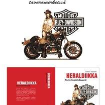 Heraldiikka tavaramerkeissä -book layout practice